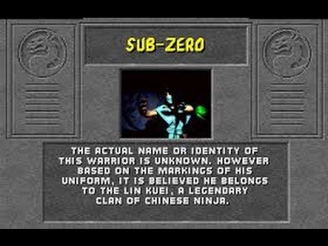 Mortal Kombat Arcade Sub Zero Gameplay on Very Hard no Continues