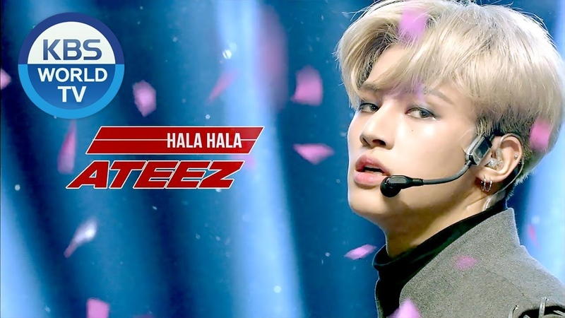 ATEEZ 에이티즈 HALA HALA Music Bank 2019 02 08
