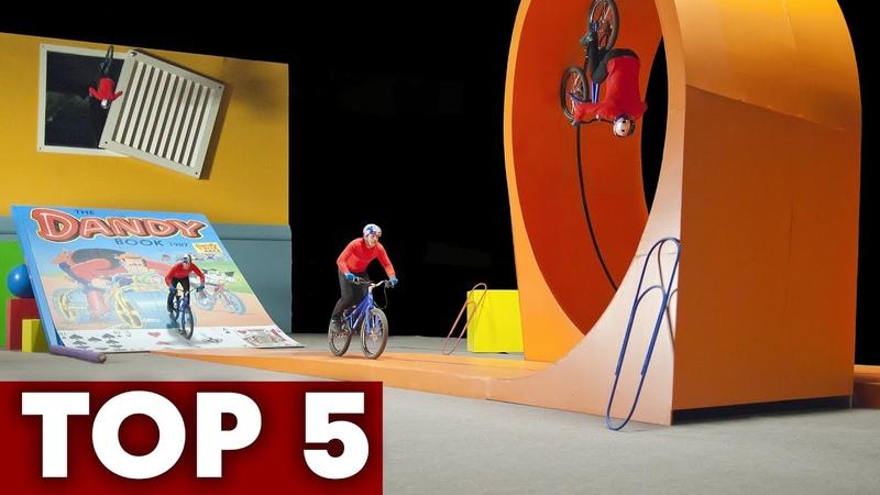 Best Of Danny MacAskill 5 All Time Trials Bike Edits