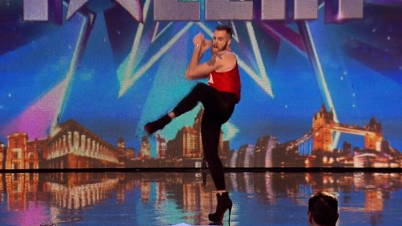 Britain's Got Talent 2015 S09E06 Luca Calo Strange Song Dance Performance
