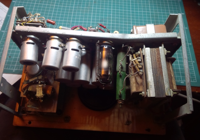 Небольшая модернизация лампового милливольтметра В3-13., изображение №4