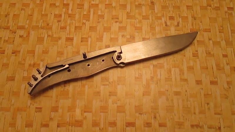 Немного слов о замке бак-лок в самодельном складном ноже