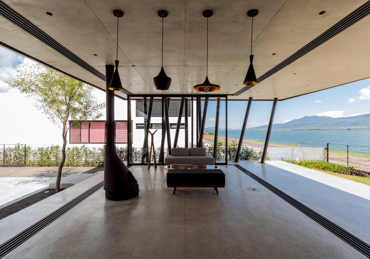 F G Cajititlán Terrace / Jaime Copado   Francisco Sarabia