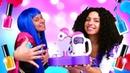 Смешные видео - Маникюр для Принцесс ДИСНЕЙ! - Игры для девочек одевалки с пластилином Плей До.