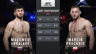 #UFCNorfolk Магомед Анкалаев vs Марчин Прачино: Вспоминаем бой