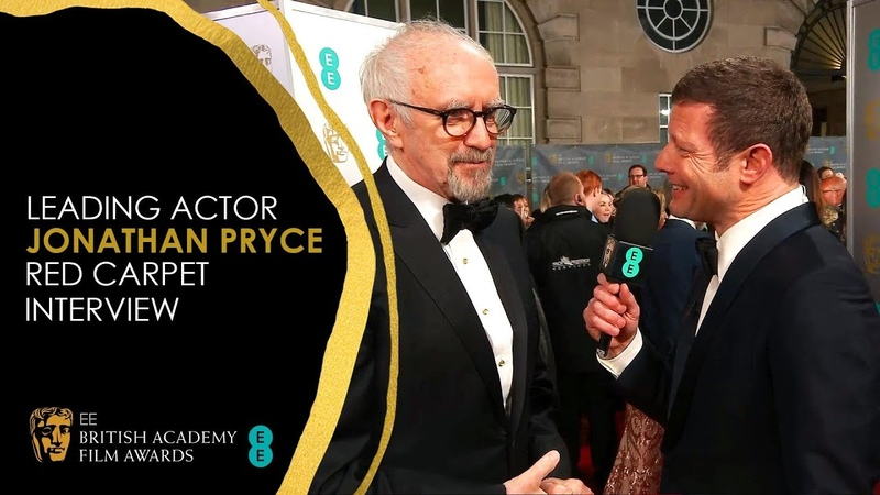Jonathan Pryce Discusses Acting in The Two Popes | EE BAFTA Film Awards 2020