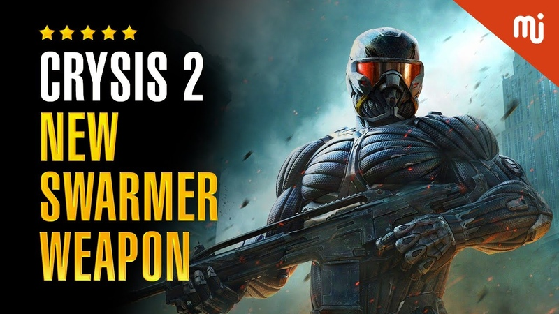 Crysis 2 PC Gameplay 1080p 60fps New Swarmer Weapon Semper Fi Or Die