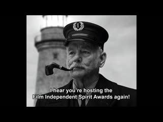 Aye! (aubrey plaza & bill murray the lighthouse parody)