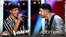 Nick Jonas Sings with Tate Brusa on Ed Sheeran's Perfect - The Voice Blind Auditions 2020