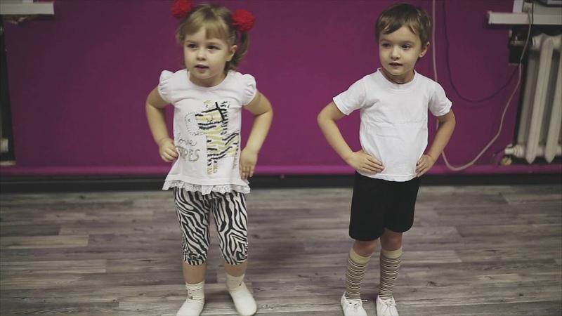 Танцевальное упражнение по методике Екатерины Железновой Гимнастика с мамой Мы ногами топ топ топ