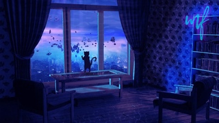 City of Fish ASMR Ambience (underwater chill room vibes - with a kitty ofc)