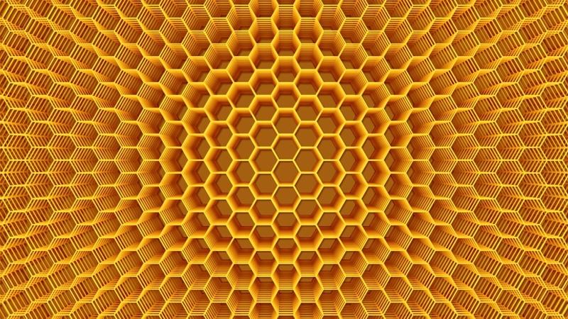 Медовые соты Магия Сакральной геометрии Практика Настройка Центр Даария