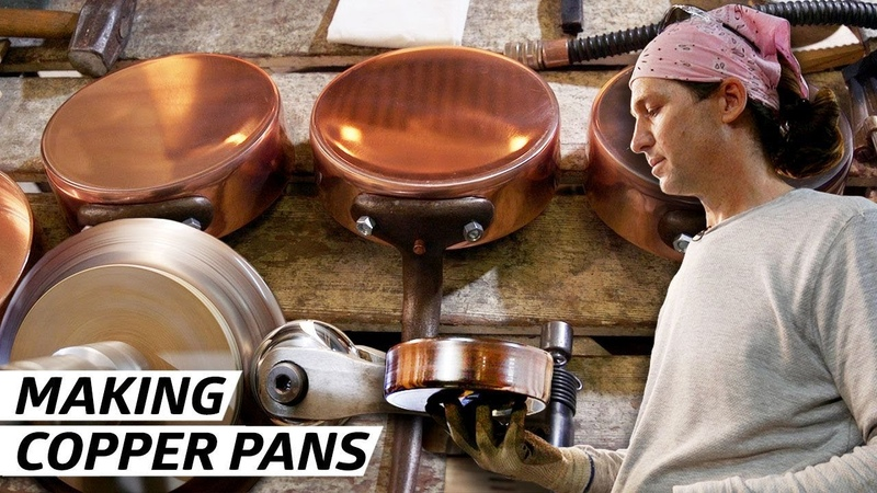 How a Former Rocket Scientist Makes the Best Copper Pots in America Handmade