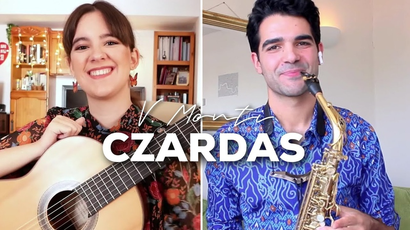CZARDAS de Monti para Guitarra y Saxo Paola Hermosín Manu Brazo