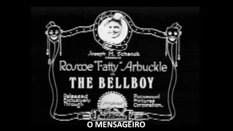 O Mensageiro Fatty Arbuckle Buster Keaton e Al St John