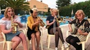 Greetings from Italy Jazz me Blues Gunhild Nanna Petronella Linnea Carling