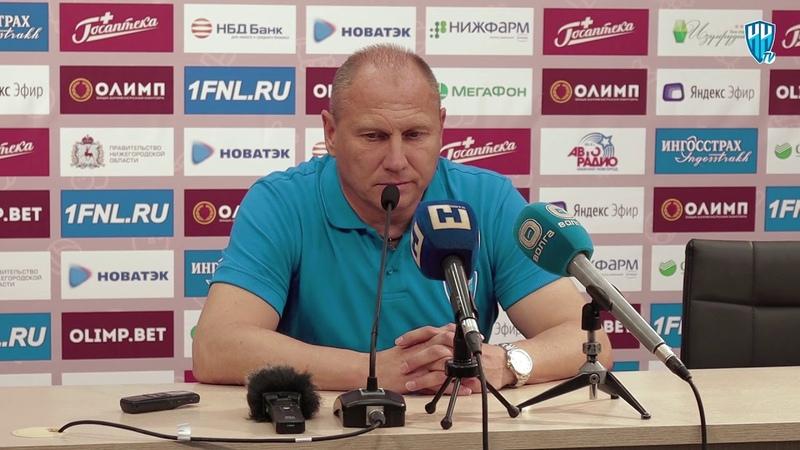 Дмитрий Черышев о матче с Факелом
