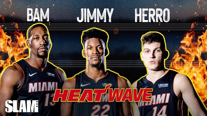 Jimmy Butler Bam Adebayo Tyler Herro ARE THE FUNNIEST TRIO IN THE NBA 🤣 SLAM Cover Shoot