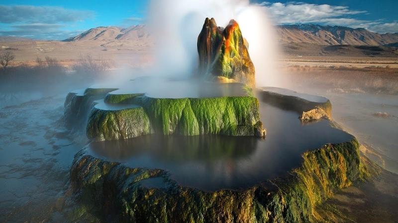 Удивительная планета мир созданный лавой