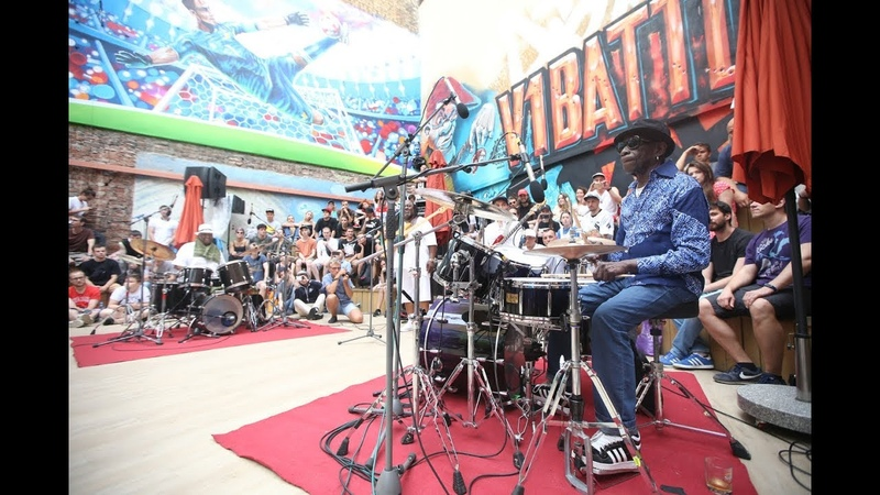 BATTLE OF FAMOUS DRUMMERS BERNARD PURDIE VS TONY ALLEN. BATTLE OF GODS. V1 FESTIVAL 22 JULY 2018