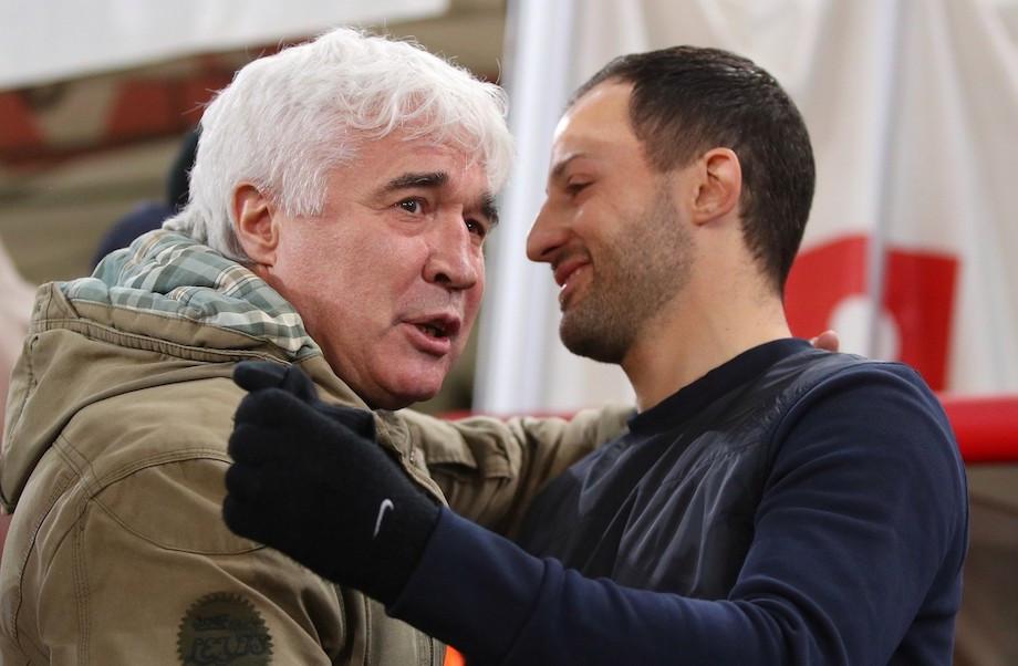 Евгений Ловчев и Доменико Тедеско