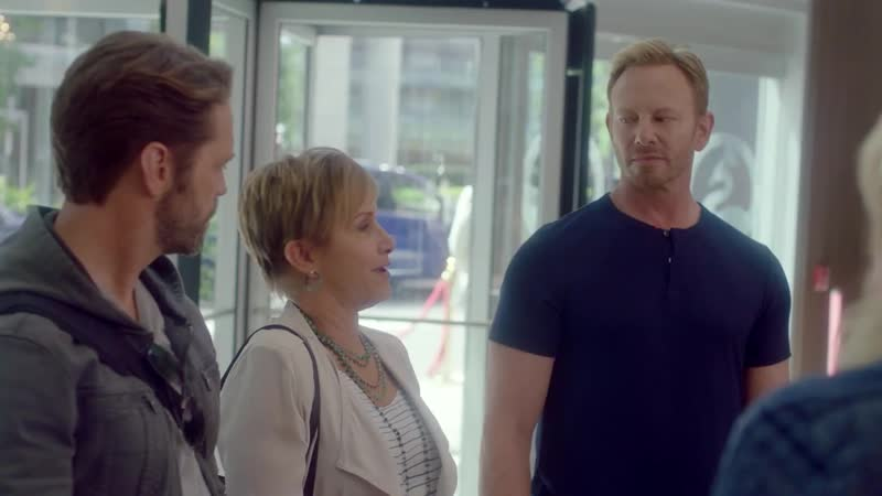 The Gang Reunites For The First Time BH90210 1x01 Clip 3