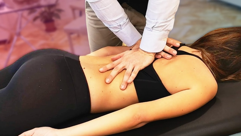 100K SPECIAL with HER BODY making *LOUD ASMR CRACKS* Osteopath Chiropractic Adjustment Session