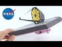 FREE Printable - DIY James Webb Space Telescope (JWST) Paper Model | Origami Tree NASA Collab