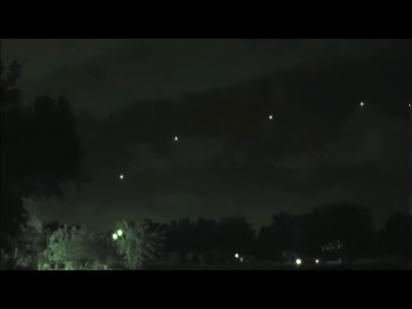 5 UFO Orbs video witnessed by group of people in New York