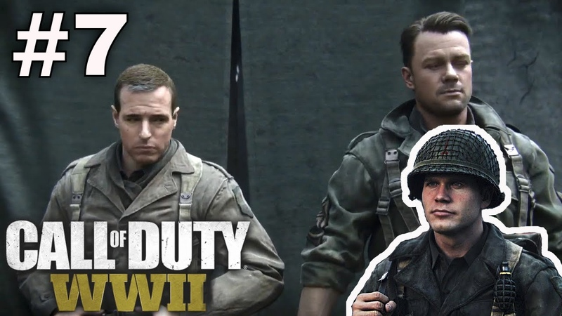 Call of Duty WWII 7 Pertempuran seru di Hutan Jerman Misi Dead Factory COD WW2 Gameplay