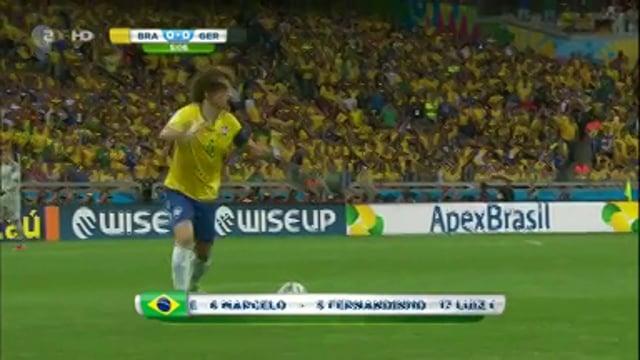 Brasilien - Deutschland (2014 WM Halbfinale)