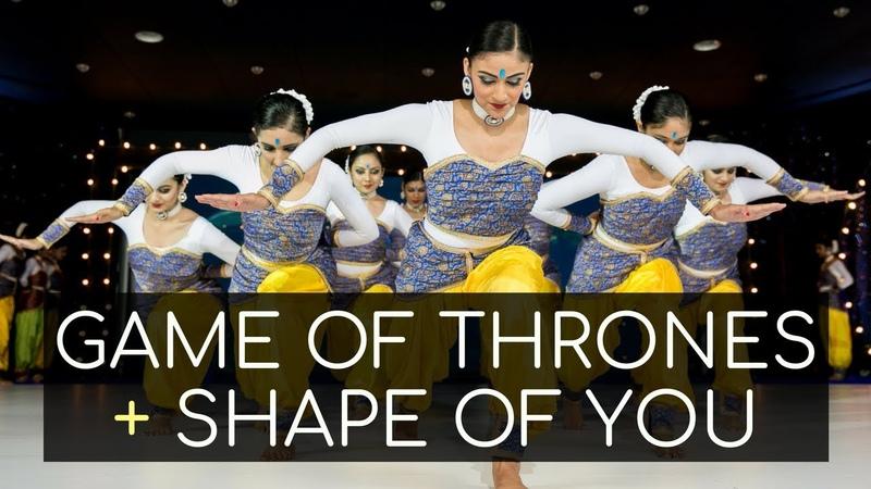 Game of Thrones Shape of You Carnatic Mix Indian Raga Mahesh Raghvan Kruti Dance Academy