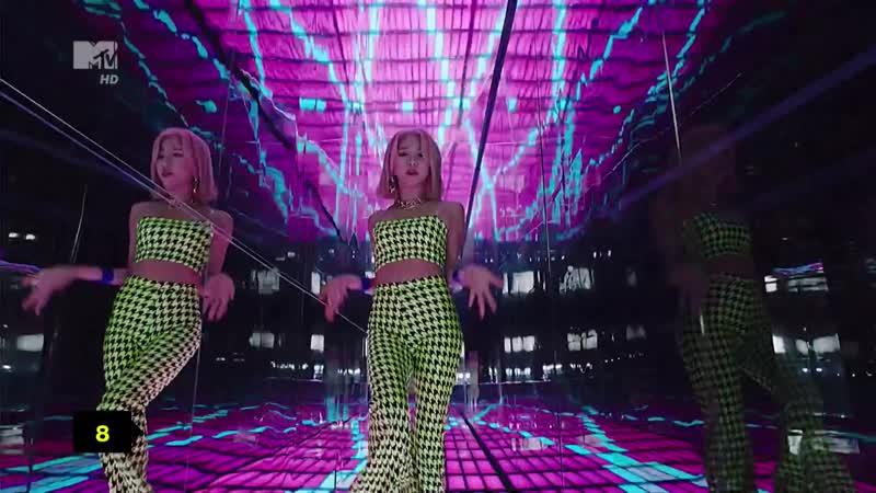 Twice — Fancy (MTV Россия HD) K-POP MTChart. 8 место