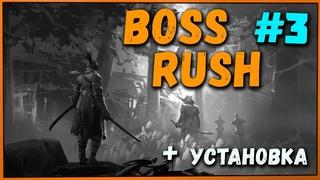 Боль и ненависть на крыше Замка : Эмма, Иссин, Дракон + Установка мода Boss Rush [Sekiro mod #3]
