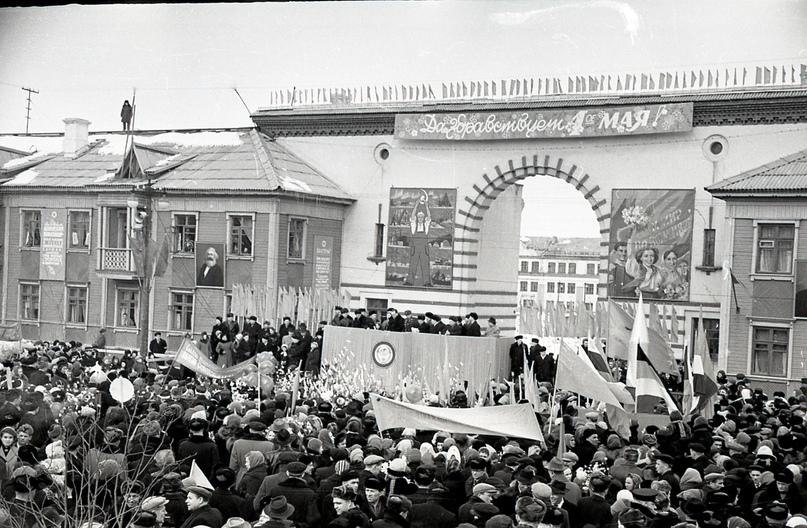 Празднование 1 мая. 1959-1960 годы