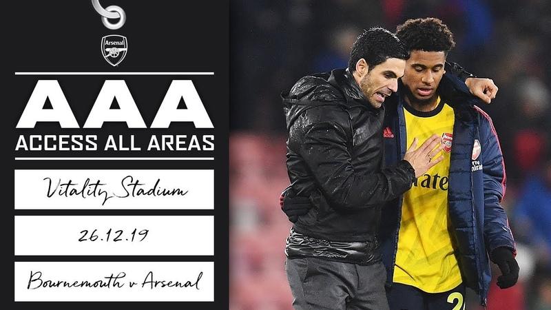 Access All Areas Arteta's first match as head coach Bournemouth 1 1 Arsenal Dec 26 2019