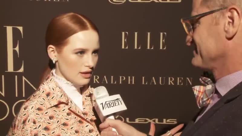 Интервью ›› 2019 Мэделин на вечеринке ELLE's 26th Annual Women In Hollywood в Беверли Хиллз