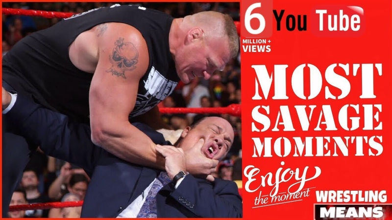 Most Savage Moments in WWE History