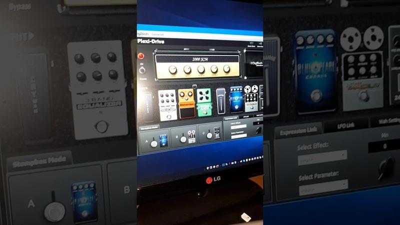 Гитарный процессор Digitech rp360. Обзор 1.