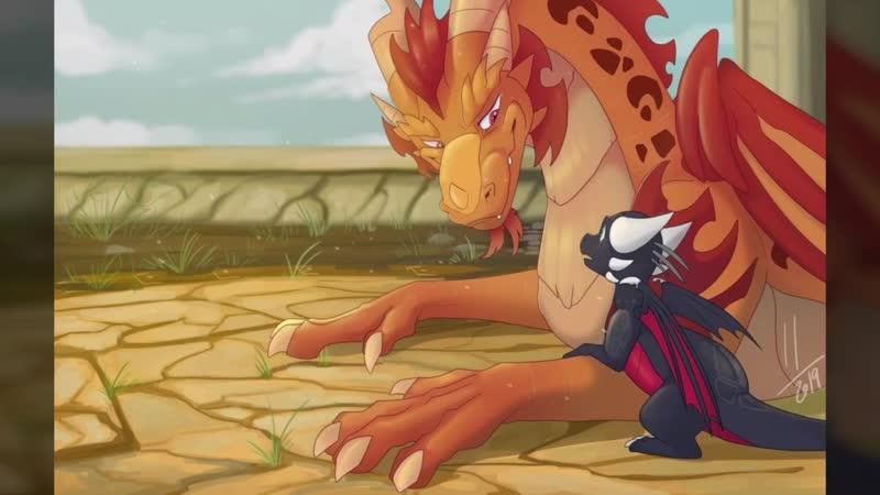 Spyro and Cynder Fire On
