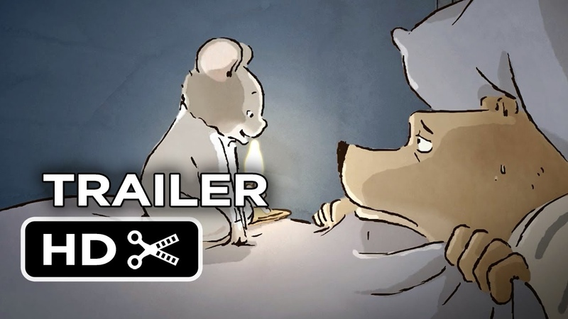 Ernest Celestine Official US Release Trailer 2014 Oscar Nominated Animated Movie HD