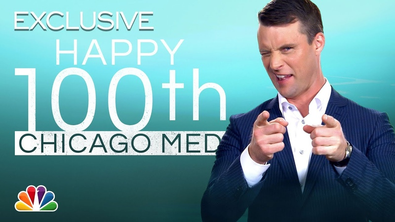 NBC Talent Wishes @Chicago Med a Happy 100th Episode