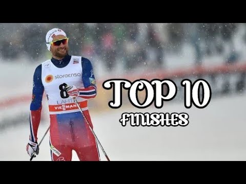 Petter Northug Top 10 Finishes