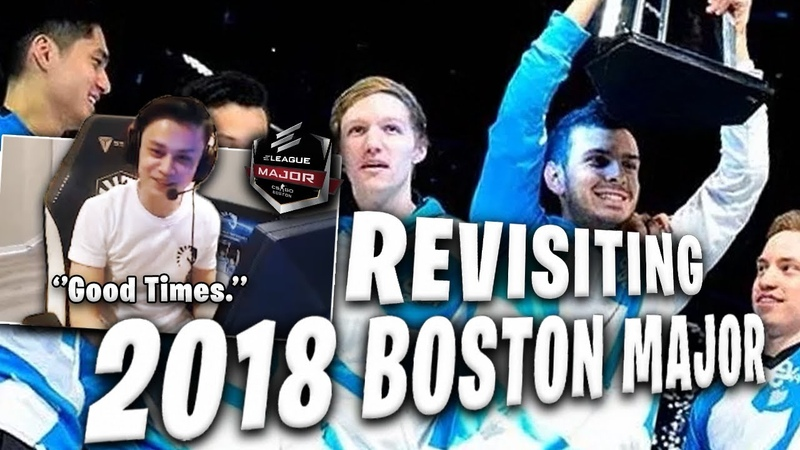 Stewie2K Reacts to ELEAGUE Major Boston 2018