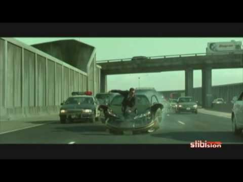Matrix Reloaded Car chase Music Video widescreen audio HQ