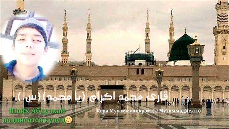 Кори Мухаммадикром (ё Мухаммад с.а.в.) قاری محمد اکرام (یا محمد س.(