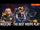 OMG MUST Watch!! Noone meepo best 200 IQ play in 7.23 New Patch | Dota2 Full gameplays