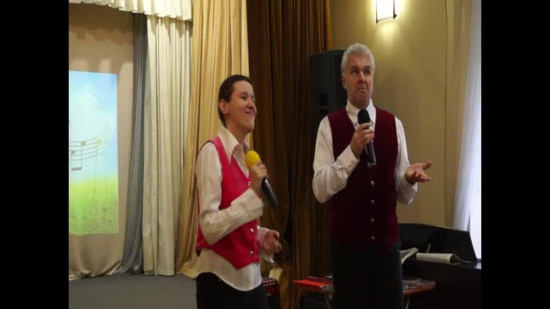 Самый верный друг - спорт. А. Есина и М. Лихачёв