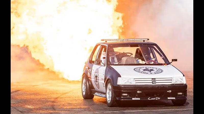 JET CAR - JET POWERED PEUGEOT 205 - INVADER JET CAR