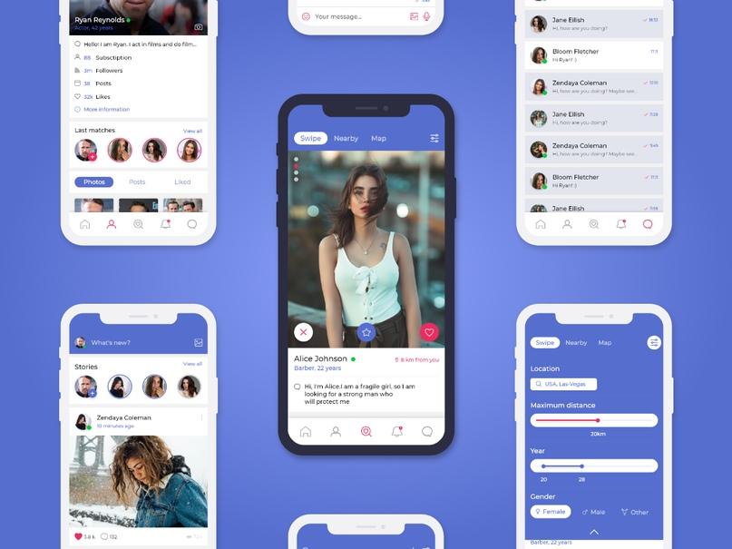5 инновационных интерфейсов сервиса для дейтинга от Facebook, изображение №1
